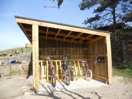 bike storage idea More