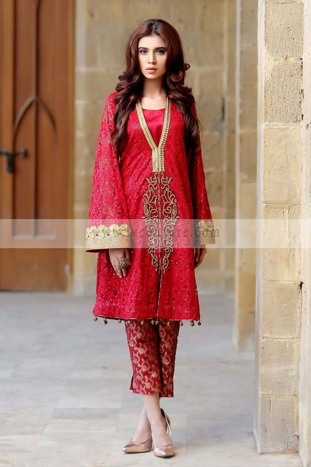 JV New Pret Collection 2016 Javeria Zeeshan Party Wear Collection (6)