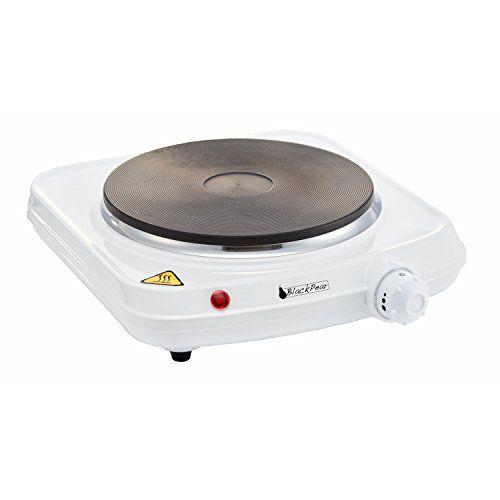 Plaque électrique 1 feu 1500W Thermostat réglable blanche BHP102: Facture avec TVA dans votre colis / Envoi bien protégé Expédition sous…