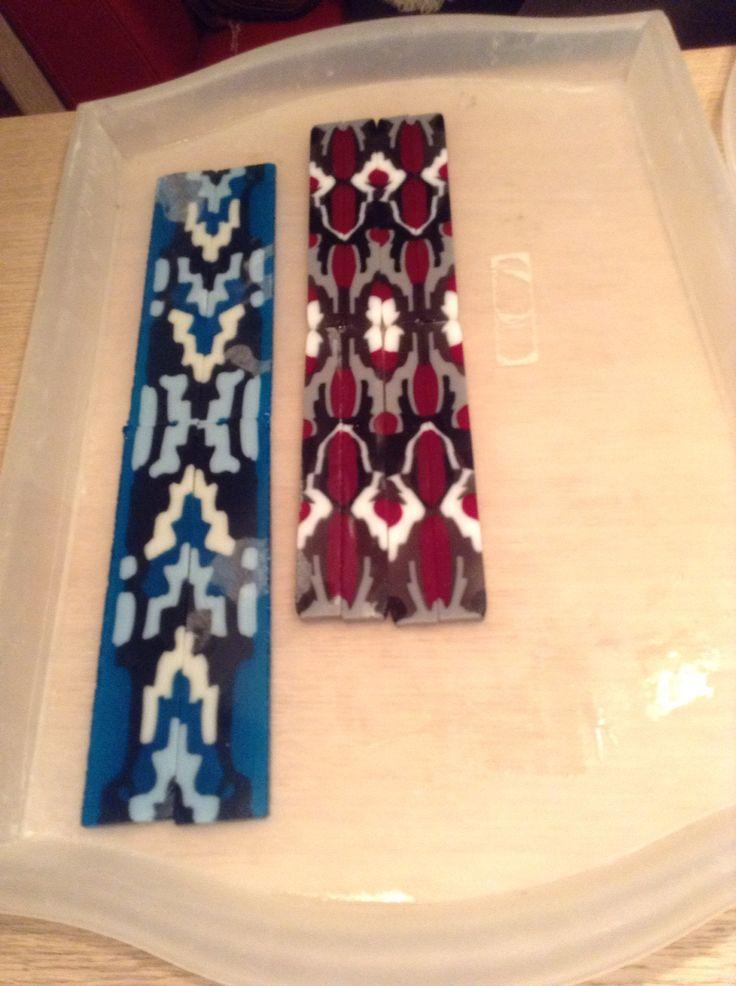 Pattern bars  på vej til et nyt fad #glaskunst #patternbars