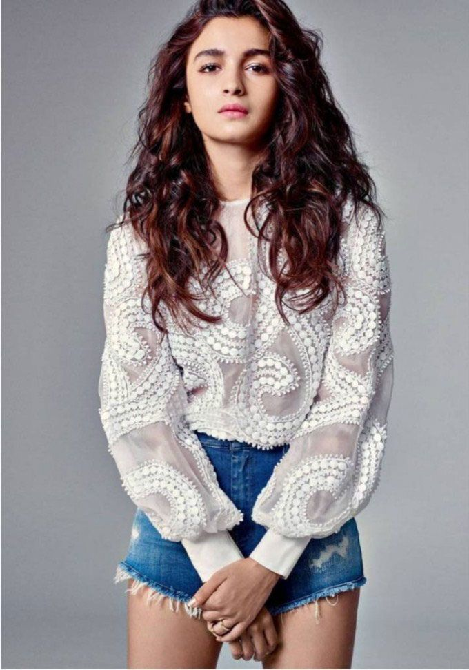 Alia Bhatt Harper's Bazaar magazine July 2015 #photoshoot.