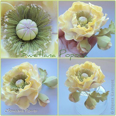 Украшение Моделирование конструирование Мои новые цветочки из фоамирана Фоамиран фом фото 5