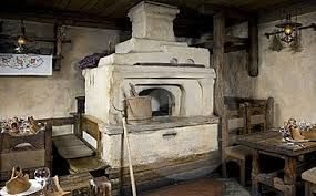 old Russian oven