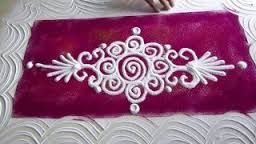 Image result for rangoli designs with flowers and having traditional themes