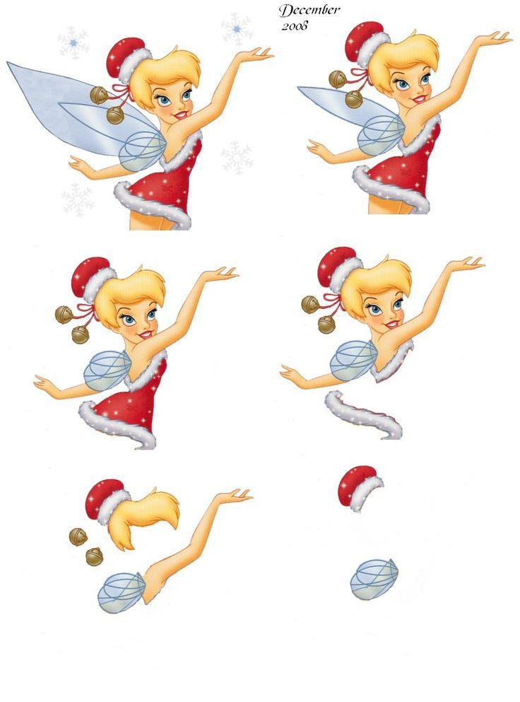 knipvel disney kerst