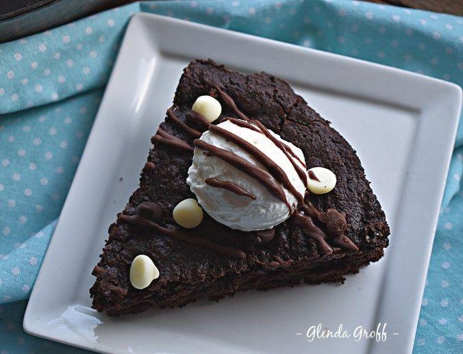 Skillet Chocolate Fudge Cookie Thm S Sugar Free Low Carb Keto
