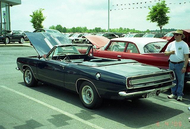 1967 Barracuda Convertible : Photo