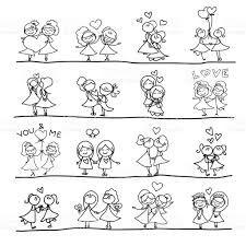 Resultado de imagen para dibujo pareja lesbianas