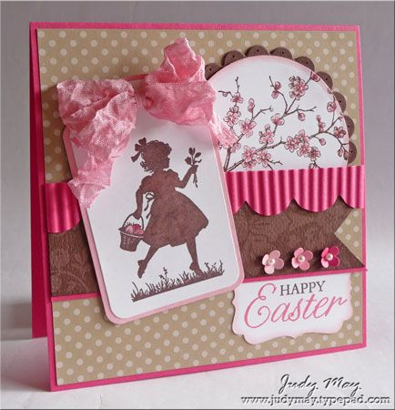 Cute for Easter but thinking it could also be a great birthday card for my daughter.Birthday Card Images, Cards Stampin, Cardgreet Cards, Easter Cards, Birthday Cards, Cards East, Silhouettes Cards, Cards Layout, Cards Greeting Cards