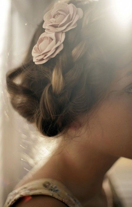Perfection. #Bridal #hair