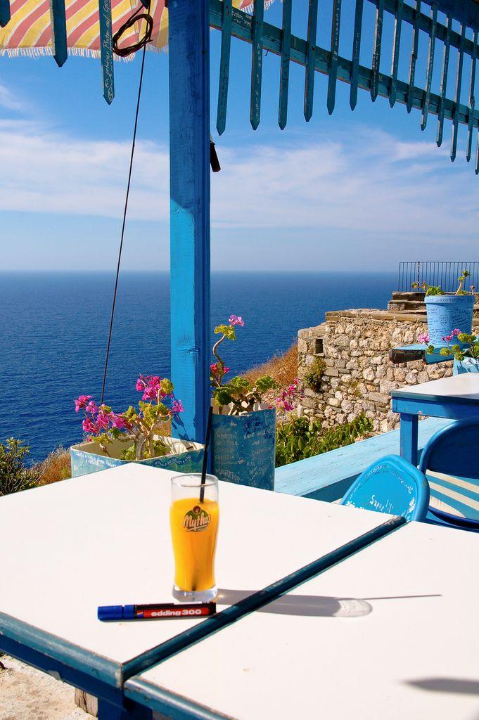 GREECE CHANNEL | #Kafeneion Manoli, (Manolis Coffee Shop) #Karpathos, #Greece http://www.greece-channel.com/
