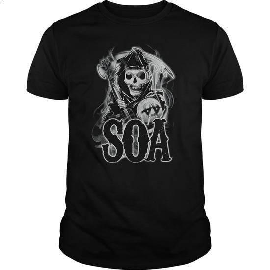 Sons Of Anarchy Smoky Reaper - custom made shirts #customized hoodies #girl hoodies