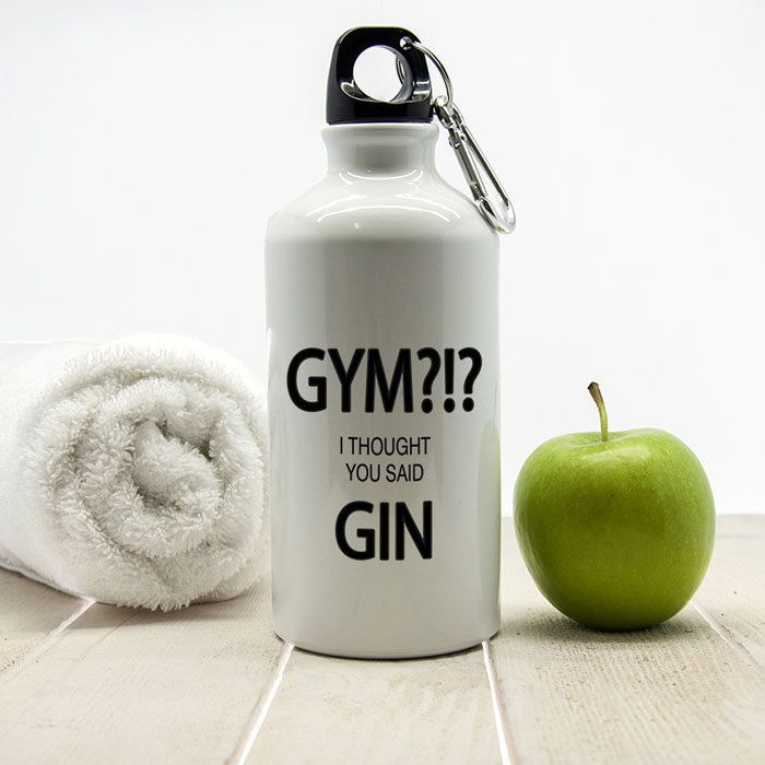 The Kitchen Gift Company - Personalised Water Bottle - Gin Design, £13.95 (http://www.thekitchengiftco.com/personalised-water-bottle-gin-design/)