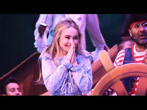 "Behind The Scenes Video: Sabrina Carpenter & The Cast Of ""Peter Pan and Tinker Bell A Pirates Christmas"""