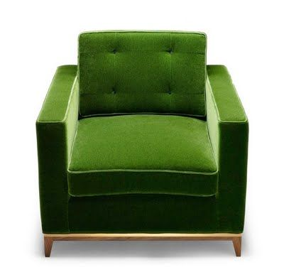 i love green and i love this chair!
