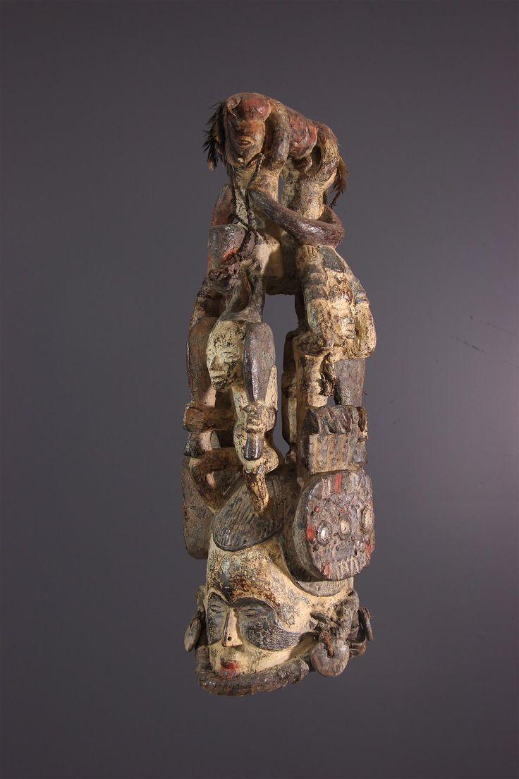 """Masque de """"jeune fille"""" Igbo"""