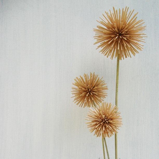 Flowers I made from toothpicks art, decor, flower