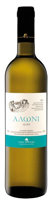 ALONI - dry white wine blended from  Assyrtiko, Athiri and Malagouzia.
