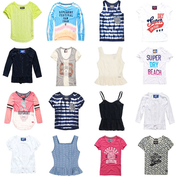 New Womens Superdry Tops - Various Styles #Superdry