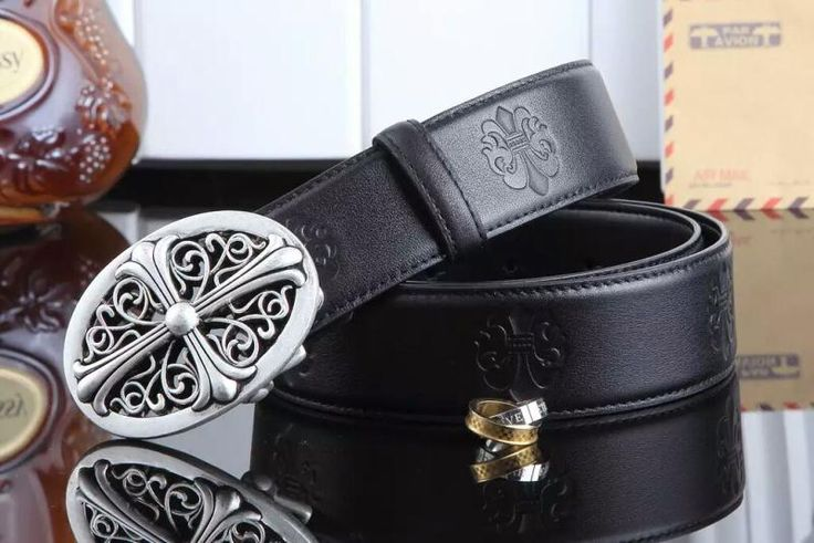 Chrome Hearts CH 1 : 1 Quality Belts, Top Layer Leather Blets, Steel Buckle