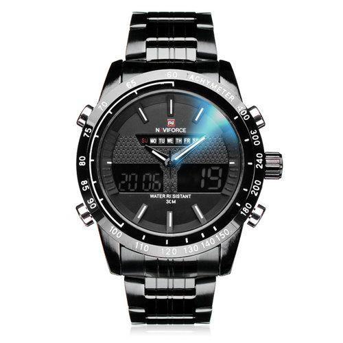 Men Sport Watches Men's Dual display Multi function Wrist Watch see more...http://goo.gl/KaXWZa