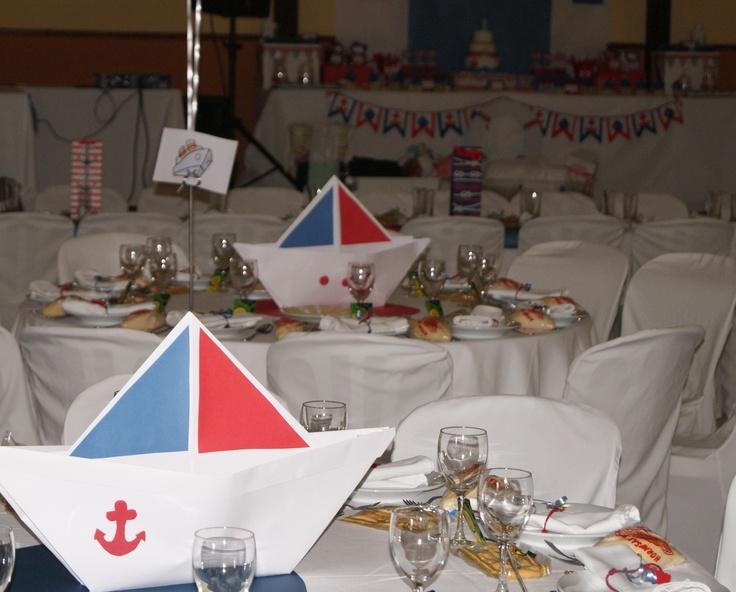 Centros de mesa marineros. Bonitos centros de mesa con ...