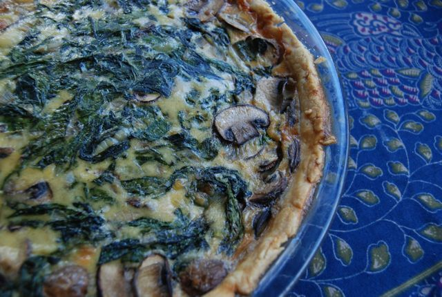 Super Easy Quiche » The Daily Dish Really good with red pepper, tomatoes, and doubled for a 9x13
