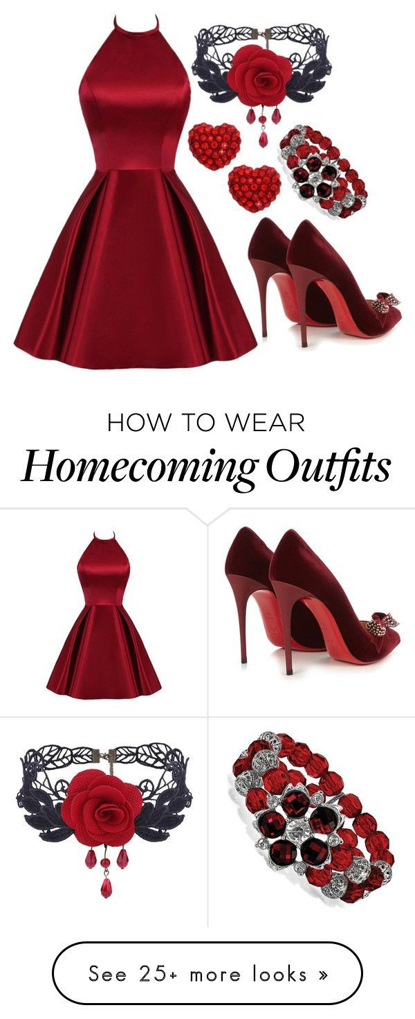 """""""Untitled #1156"""" by bananajaemin on Polyvore featuring Christian Louboutin and 1928 #christianlouboutinoutfits"""