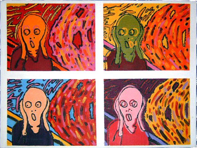 Munch Vs Warhol By Boot2theheadman On Deviantart All