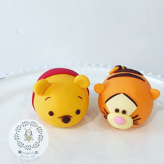 Tsum Tsum Cake Toppers by Busybee0715 on Etsy