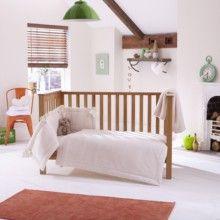 Honeycomb Cot/Cot Bed Quilt, Bumper &amp
