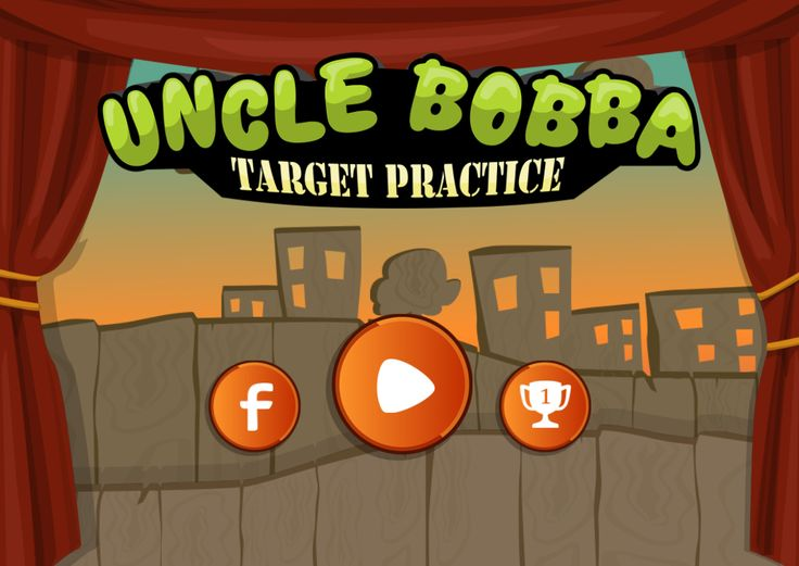 Screen shot from the upcomming #mobilegame #UncleBobba - Target Practice. #Android, #iOS