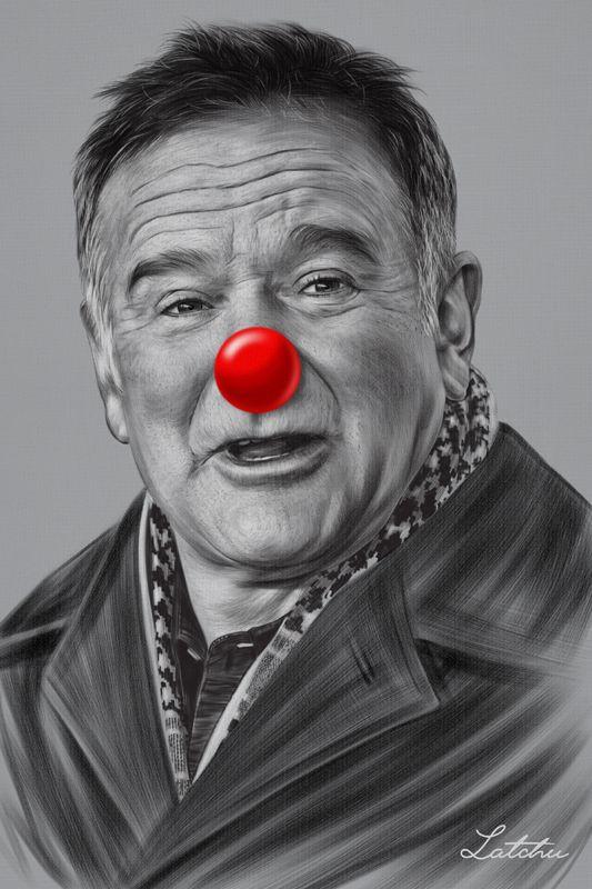 Robin Williams by Latchu