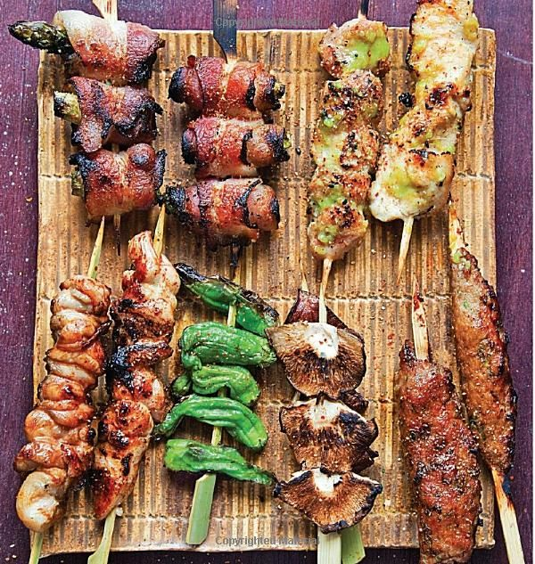 The Japanese Grill: From Classic Yakitori to Steak, Seafood, and Vegetables: Tadashi Ono, Harris Salat: 9781580087377: Amazon.com: Books