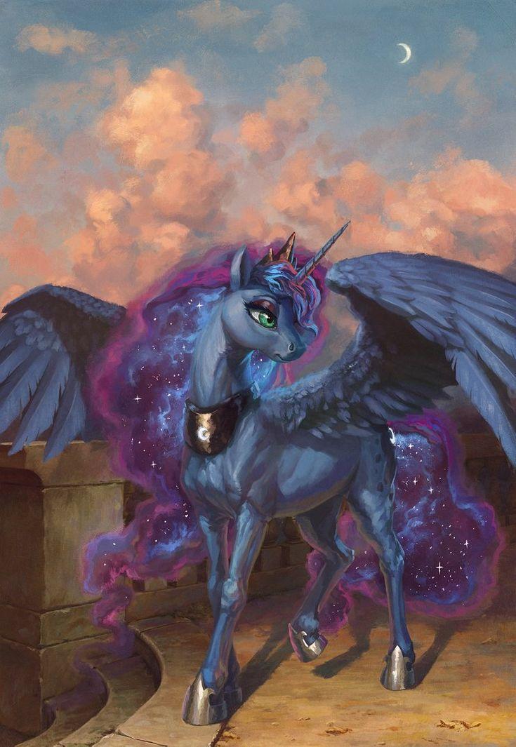 MLP: Princess Luna Of The Night