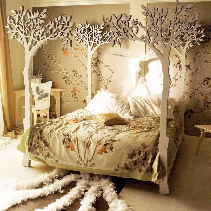Home & Garden: Un lit de conte de fées