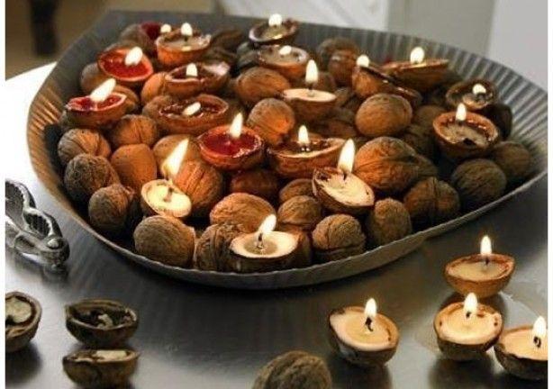 herfst met walnoten