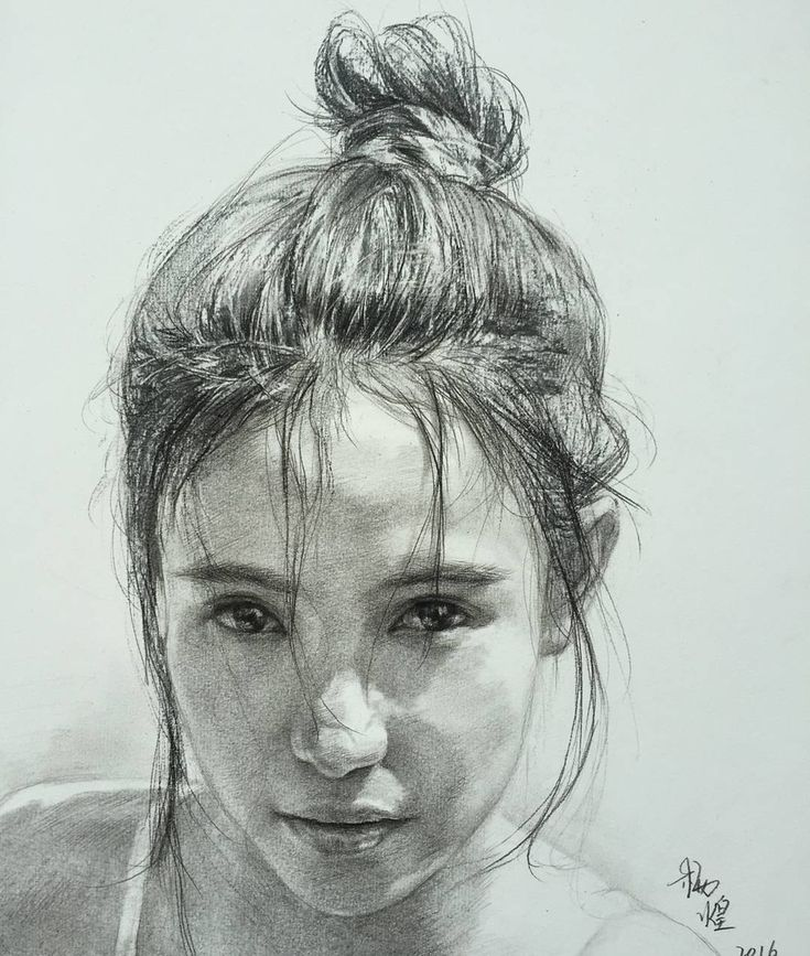 Charcoal Portraits full of Expressions and Emotions. By lee.