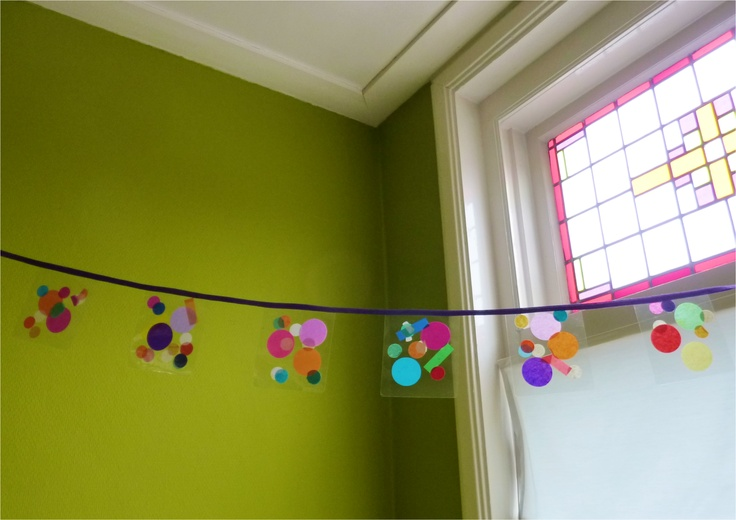 Maak je eigen confetti slinger!  Make you own confetti garland!  by Confetti Lab