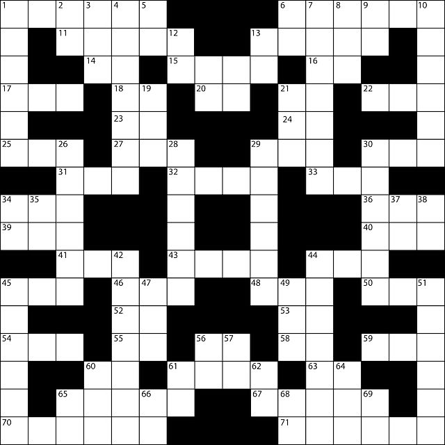 Blank Crossword Template Crosswordpuzzletemplateblankcrossword