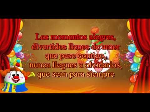 Feliz Cumpleaños Sobrino, porque esos momentos llenan mi corazon y me recuerdan que aunque no estas conmigo