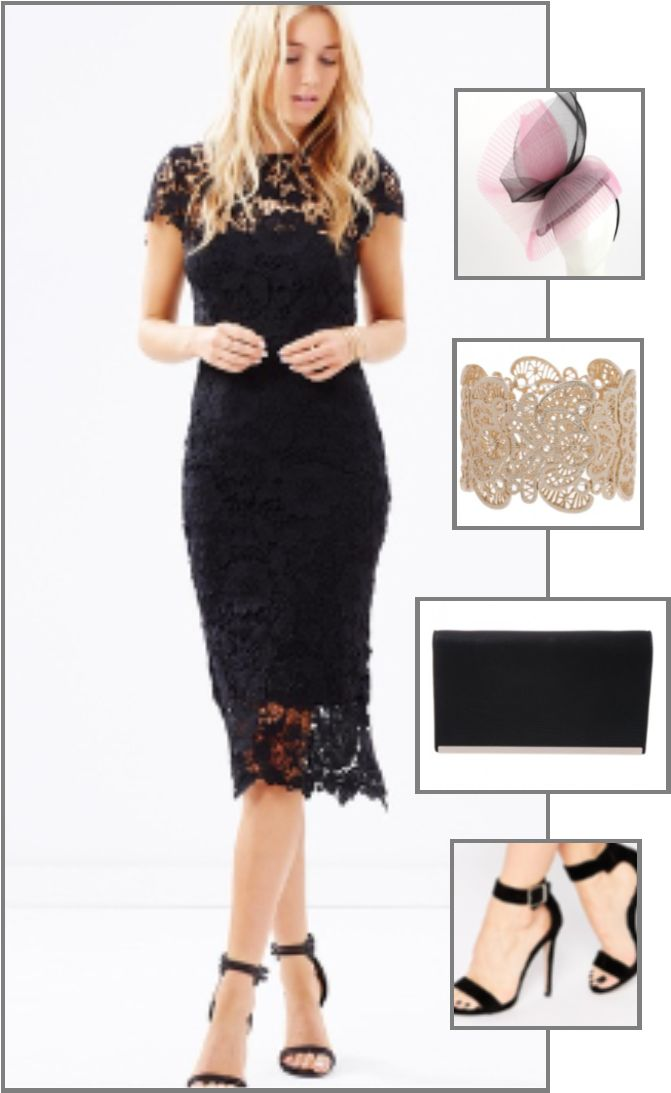 Melbourne Cup Black Lace