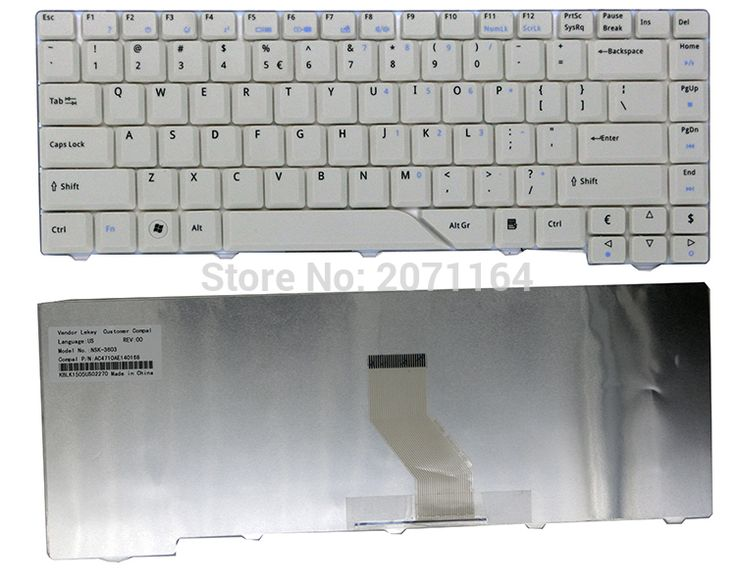 The new 100% original laptop accessories for ACER Aspire 4730Z 4930 4730zg 4935 4735Z 4715 5920G keyboard