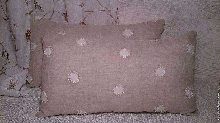 Купить Подушки декоративные. Подушки льняные. - подушки декоративные, Подушки, подушки льняные, подушки вышитые