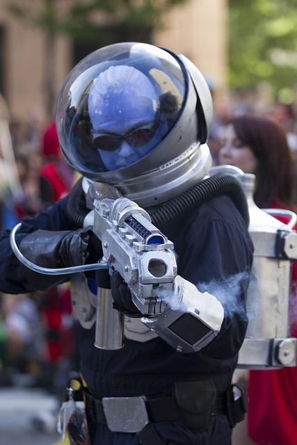 Excellent Mr. Freeze cosplay by David Selby, via Flickr