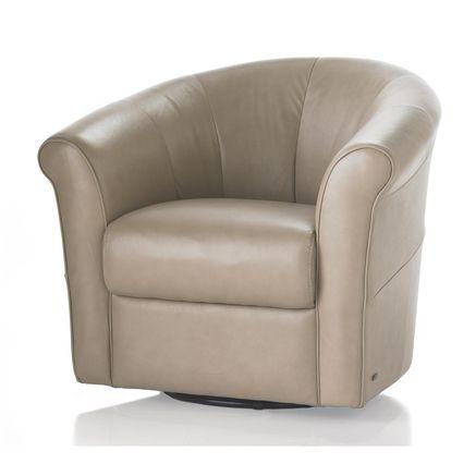Natuzzi Editions Quattro Swivel Chair For The Home