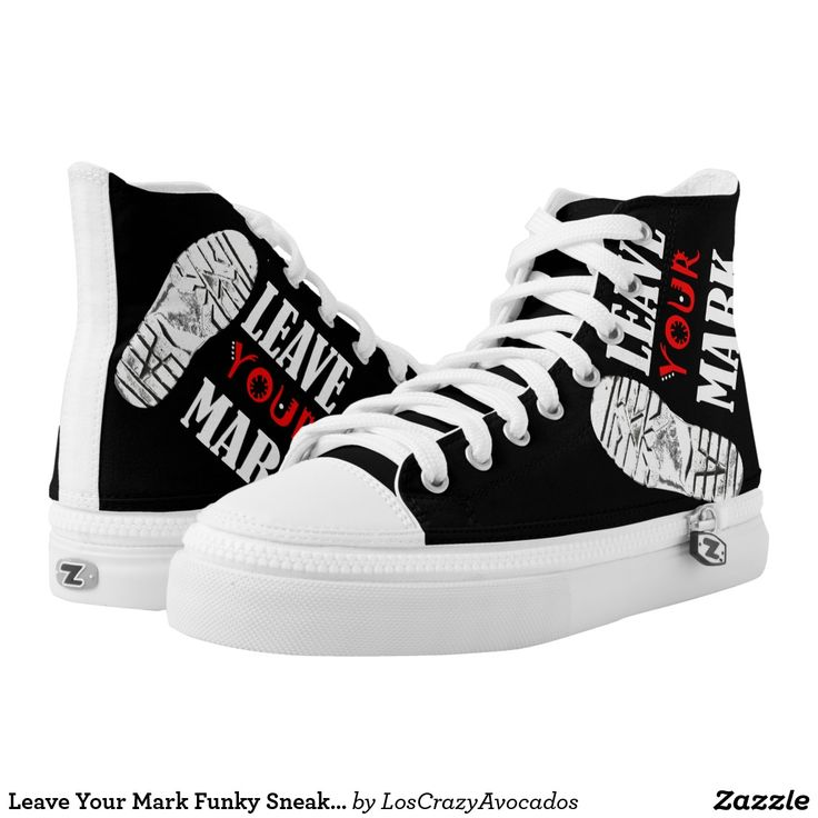 Leave Your Mark Funky Sneakers