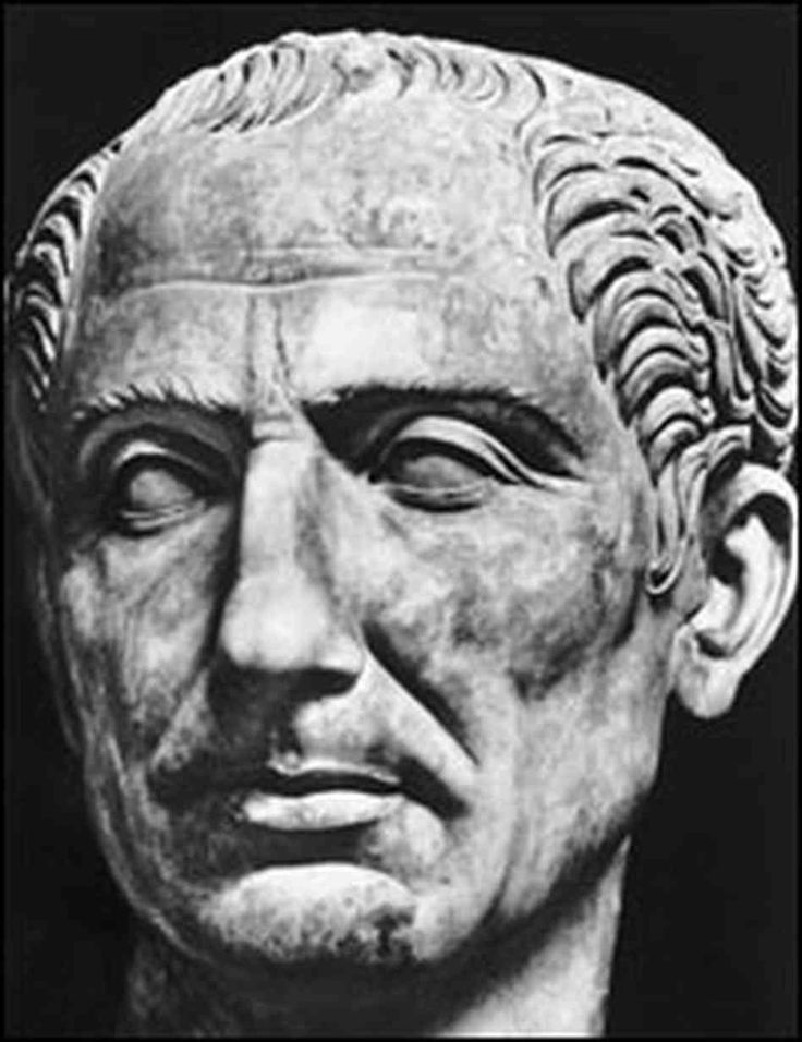 Julius Caesar was the emperor throughout most of my life until his death.  Rome became a vast empire under his power.