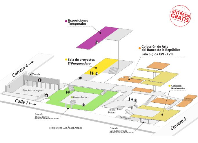 Horarios y direcciones | banrepcultural.org