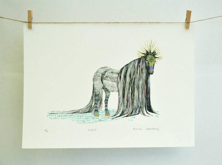 WILD HORSE PRINT